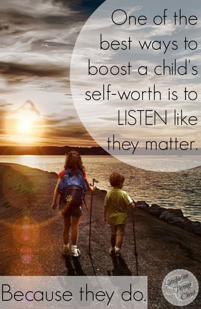 5 Reasons to REALLY Listen to Your Child | Christian