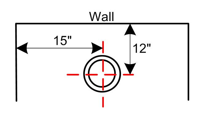 Floor Trap Distance From Wall Google Search