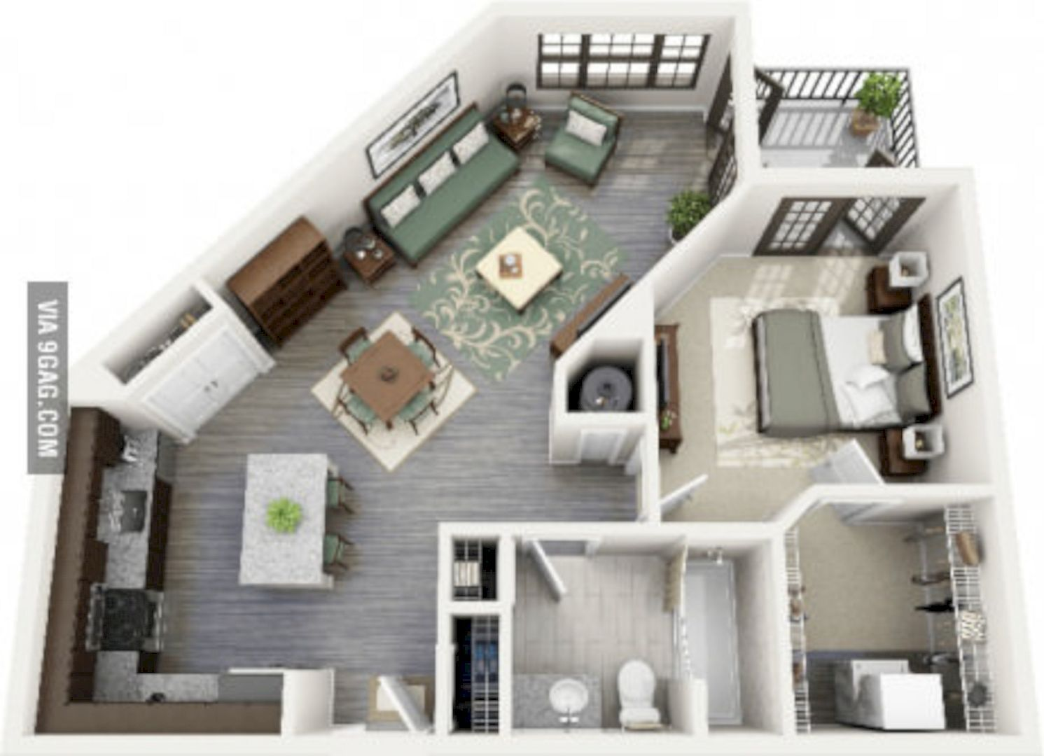 Why Do We Need 3d House Plan Before Starting The Project Studio Apartment Floor Plans Apartment Layout Apartment Floor Plans