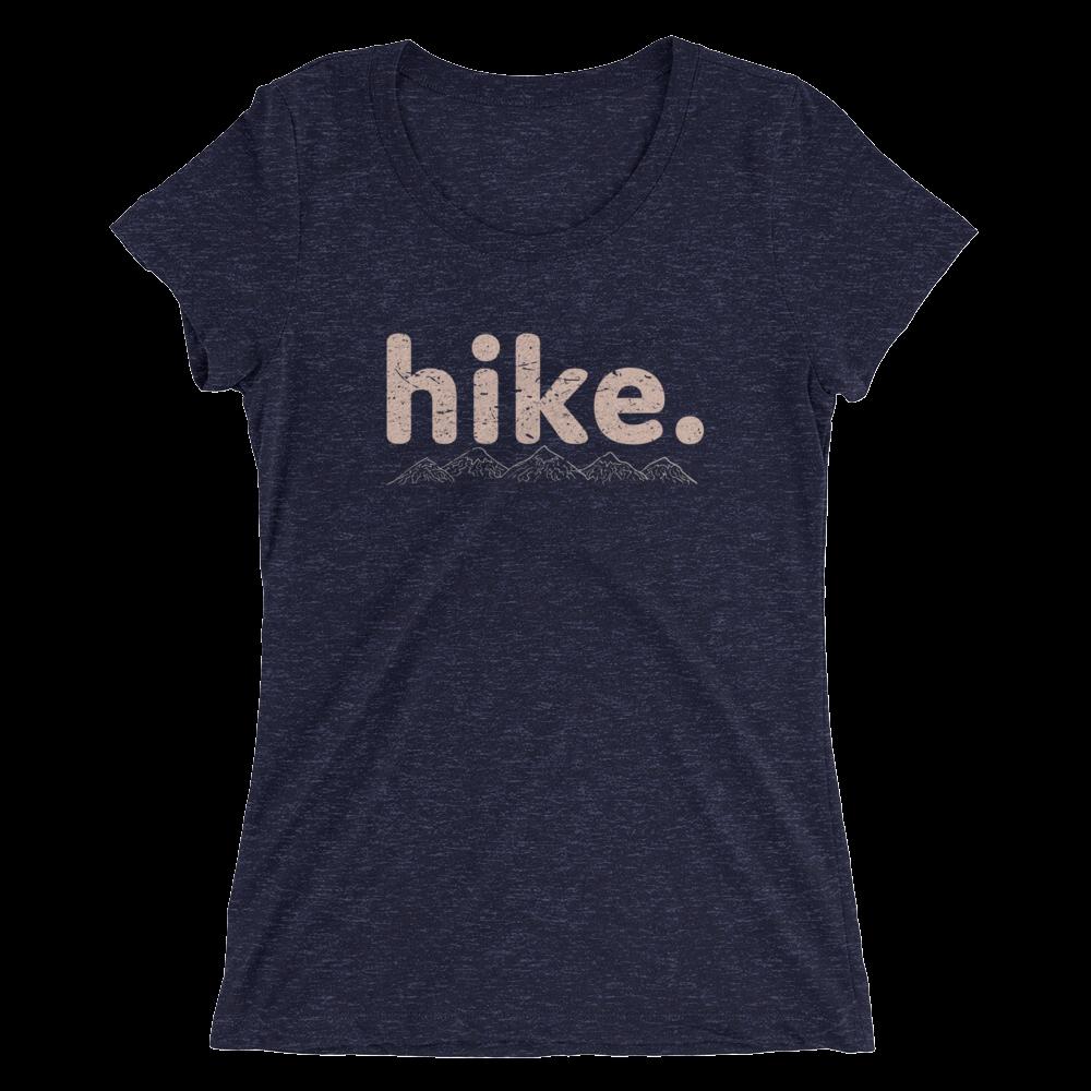hike. Ladies' TriBlend Womens baseball t shirts, Shirts