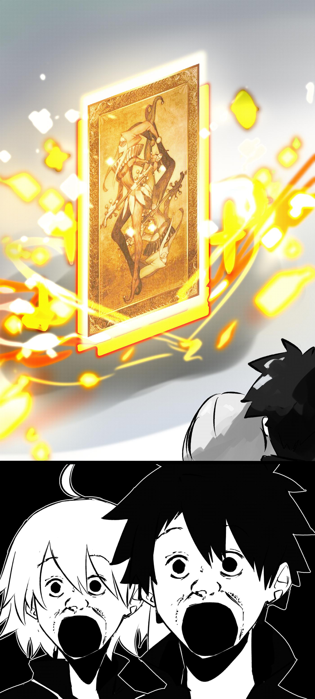Ryoma and Oryo in 2020 Fate anime series, Summoning, Fate
