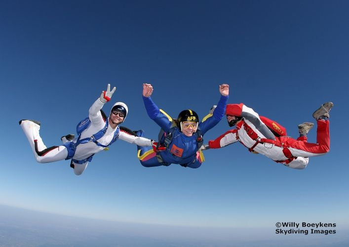 Go Skydiving!
