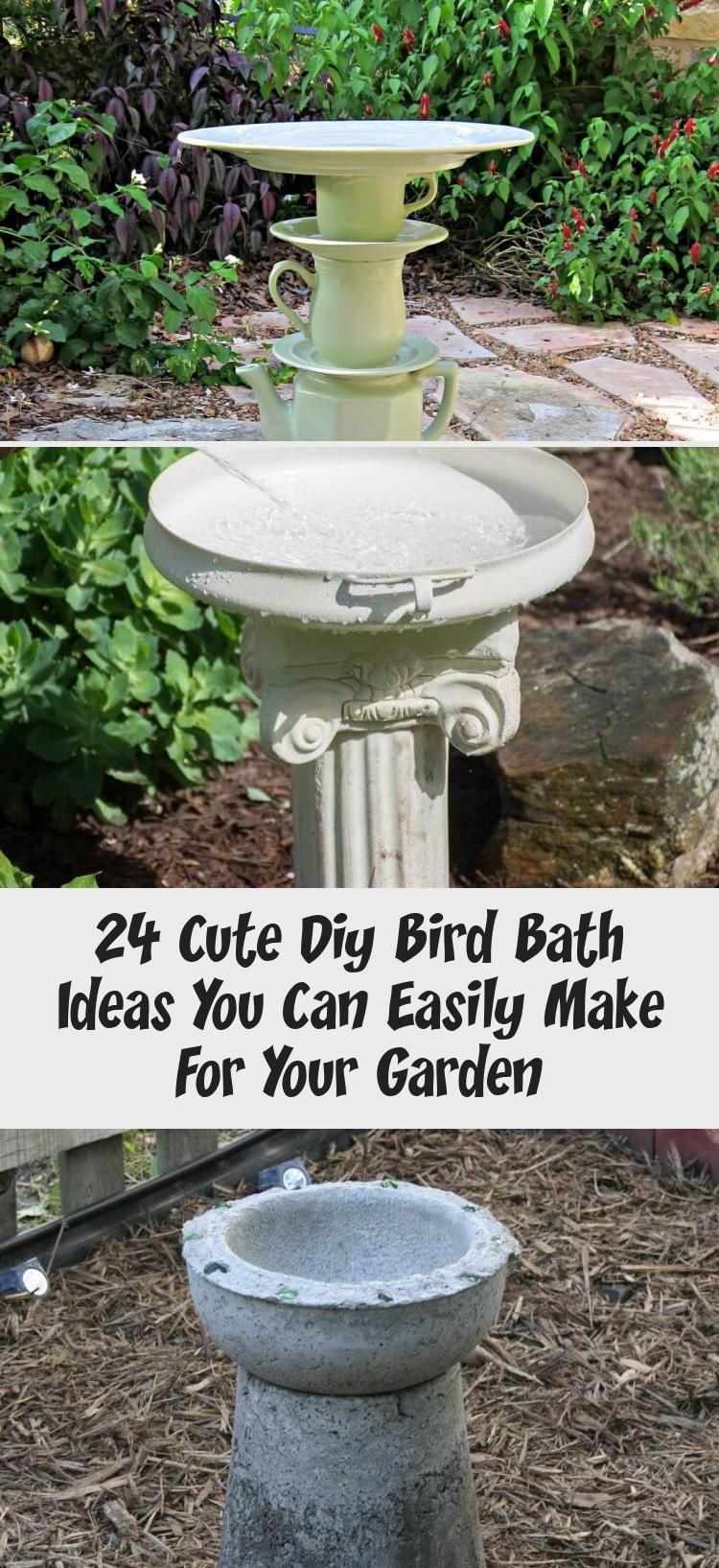 Photo of 24 süße Diy Vogel Bad Ideen, die Sie leicht für Ihren Garten machen können – Best Diy