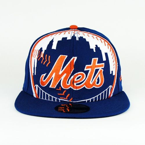 541a887accc New York Mets Oversize Logo Team Colors 59fifty