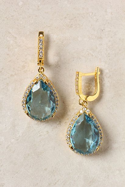 Not sure what I'd wear these earrings with, but I don't care - they're gorgeous!