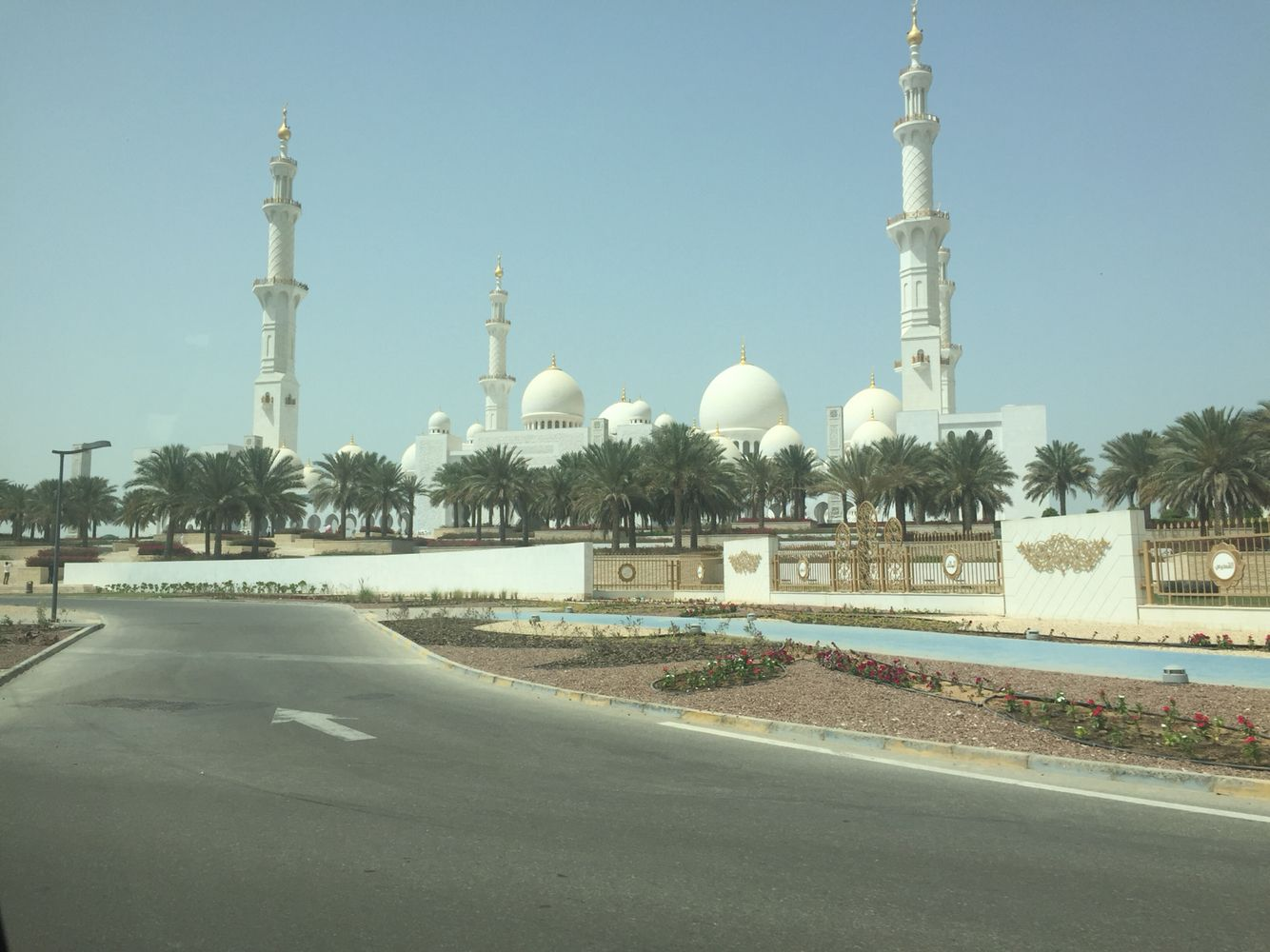 Sheikh Zayed Grand mosque. Abu Dhabi