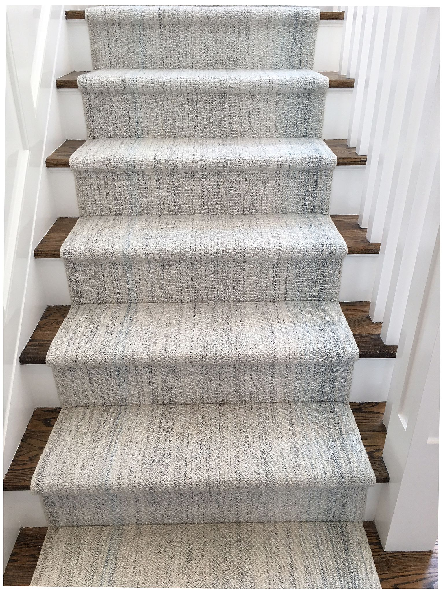 Best Custom Pelas Flat Weave Runner Cotton Wool Stair Runner 400 x 300