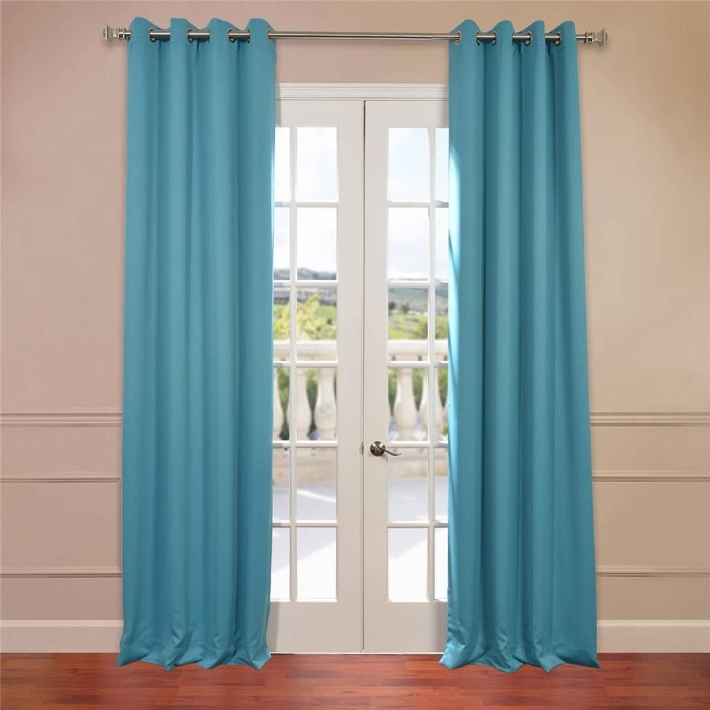 Half Price Drapes Grommet Plush Blackout Curtain Panels