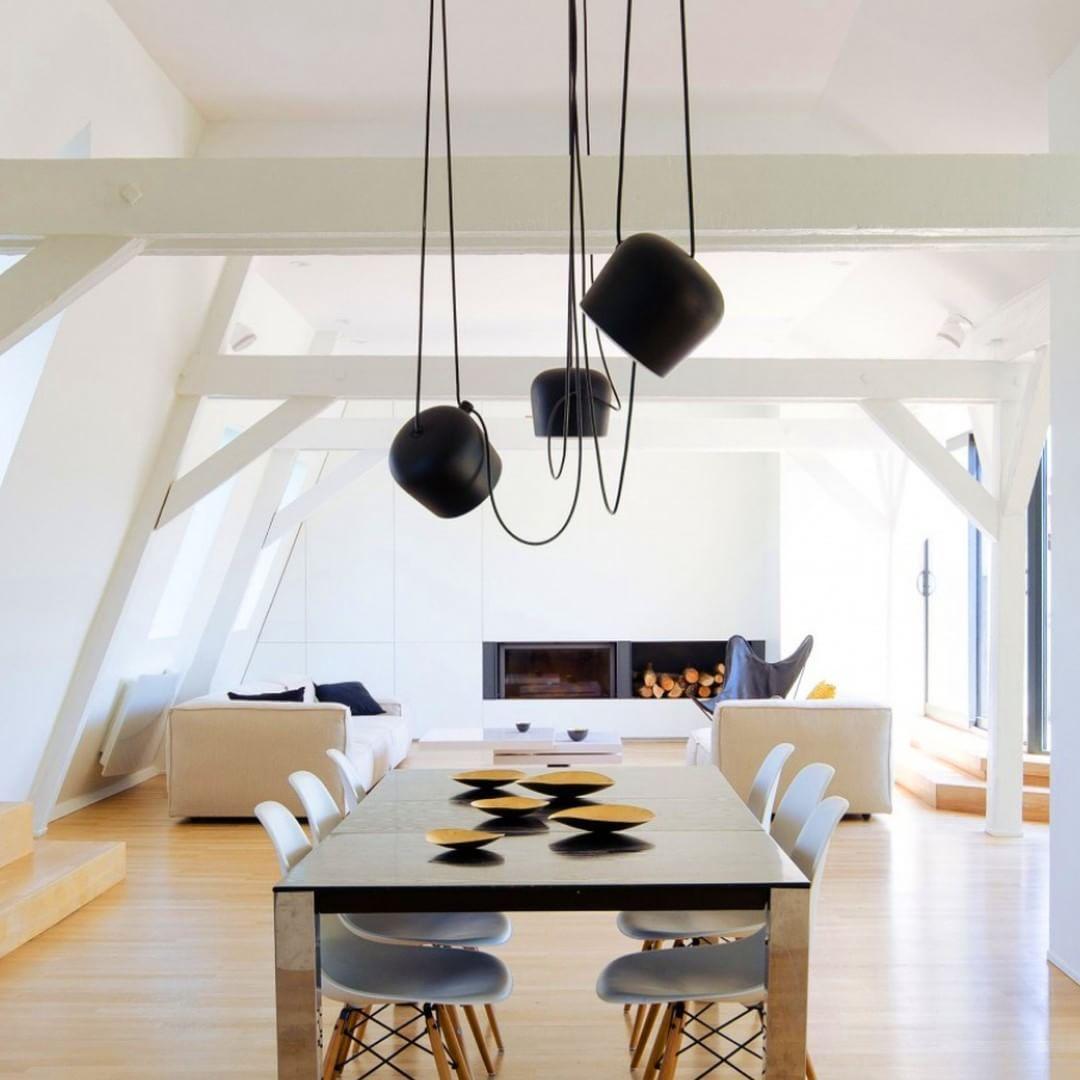 light flos aim eames plasticchair vitra leuchten. Black Bedroom Furniture Sets. Home Design Ideas