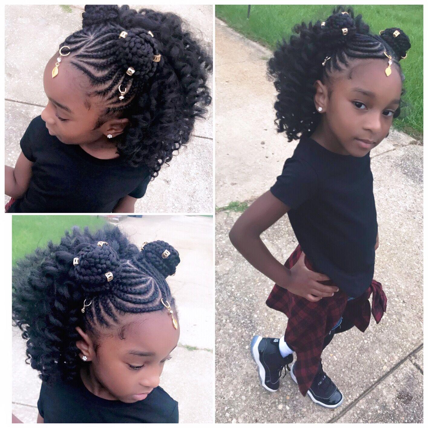 So Cute Natural Hair Styles Braided Hairstyles Kids Braided