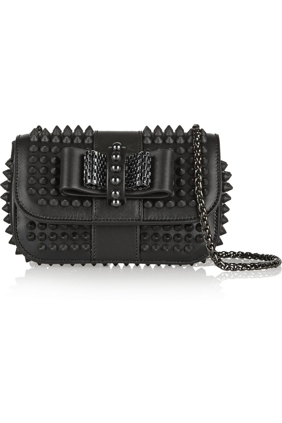 c2beac4c482 CHRISTIAN LOUBOUTIN Sweet Charity studded leather shoulder bag £895 ...