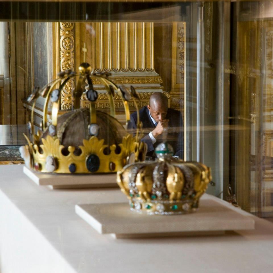 Couronnes Des Rois De France Galerie 'apollon - Mus Du Louvre. French Royal And Tiaras