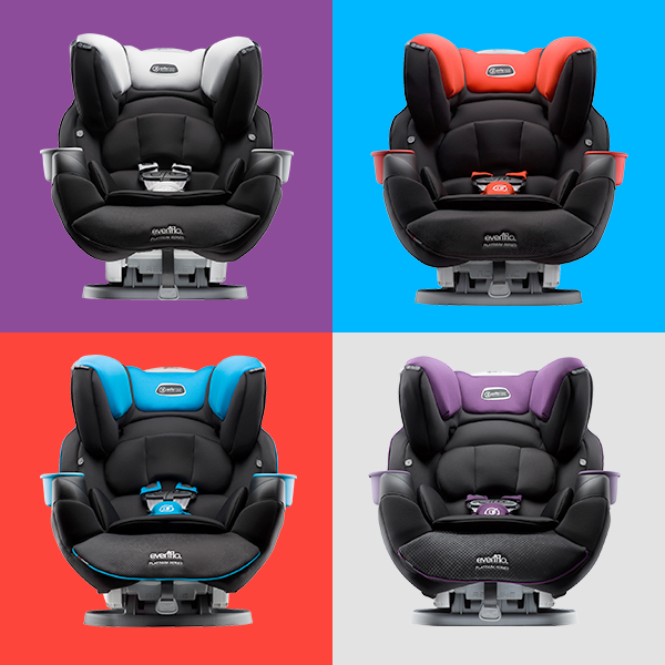 Evenflo SafeMax Carseat First Rollover Tested Metal Frame And Super Comfy