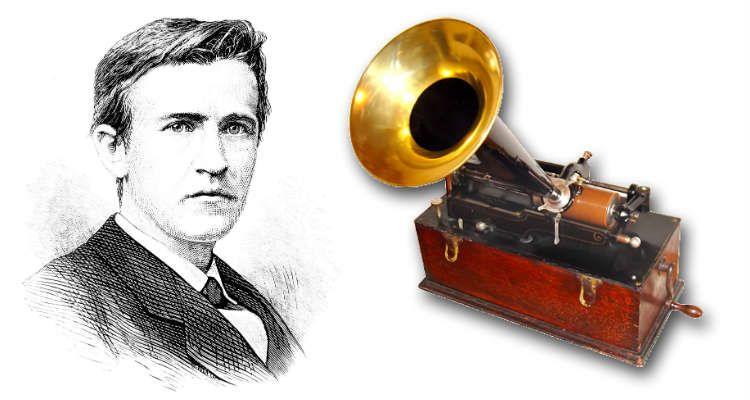 Resultado de imagen para Fotos: Thomas Edison patenta el fonógrafo
