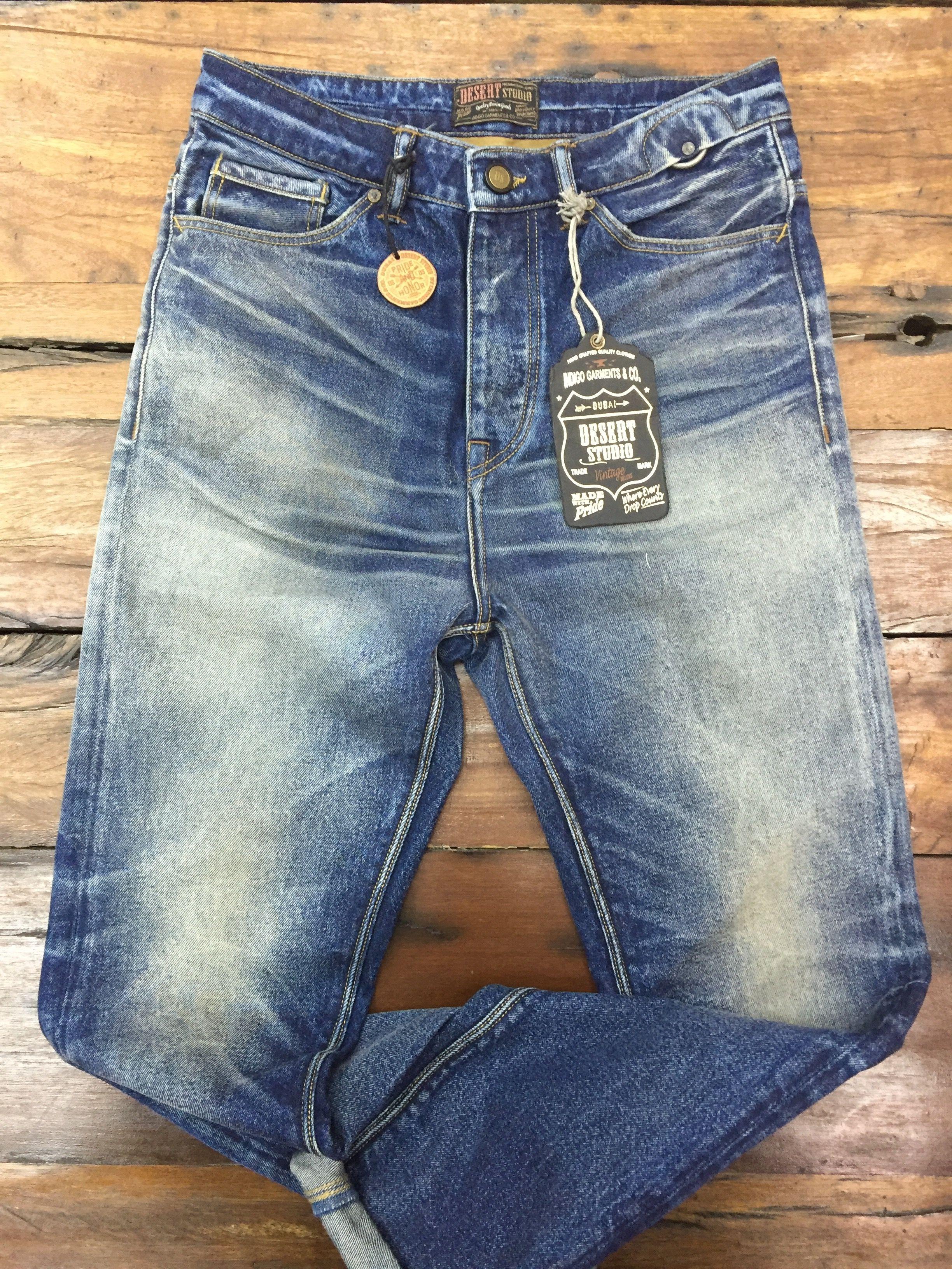 Bcamel Activeb Houston Jeans Straight Leg Blue Denim Herren