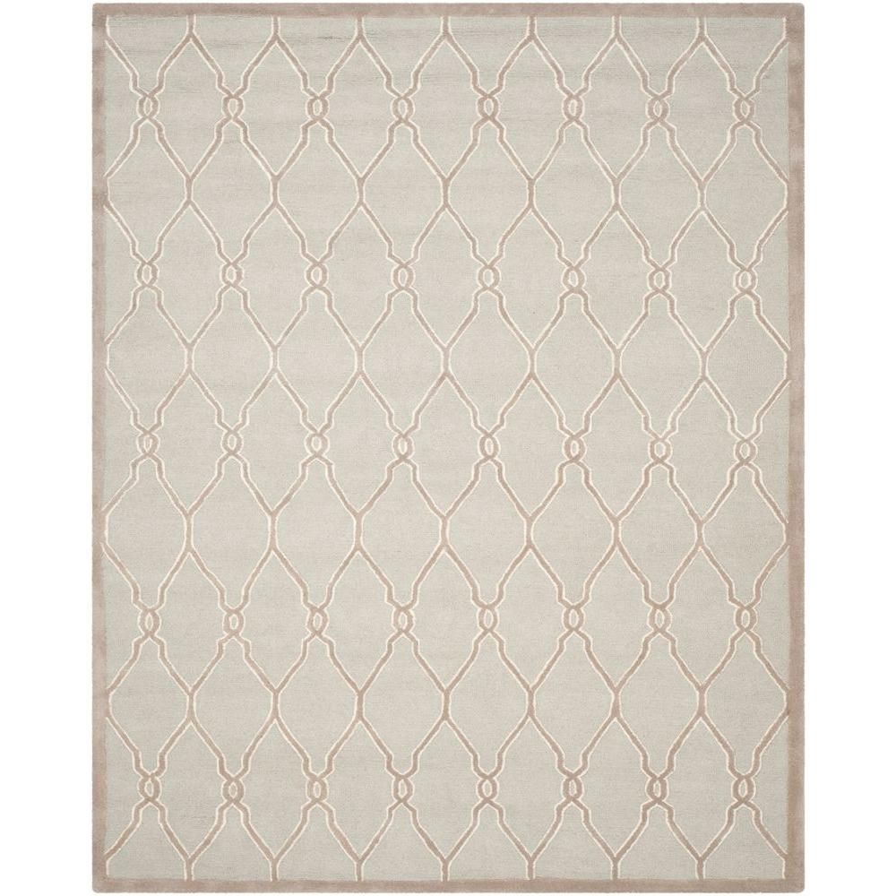 Safavieh Cambridge Light Gray Ivory 8 Ft X 10 Ft Area Rug