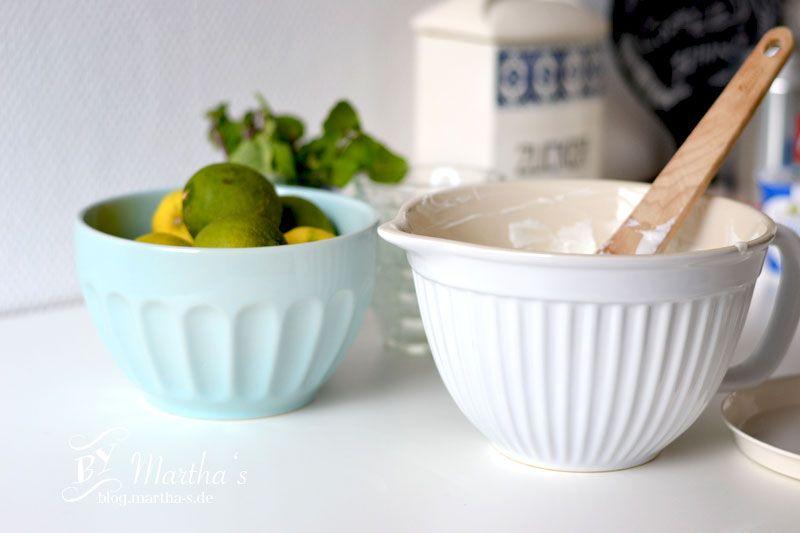 Limettendessert, #IBLaursen, #Marthas, #Rührschüssel, #Dessert