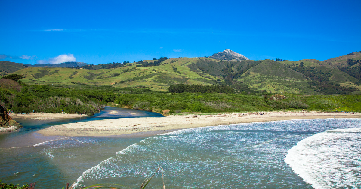 Andrew Molera is about 27 miles south of Carmel and one of the first State Parks you'll hit heading down the coast.