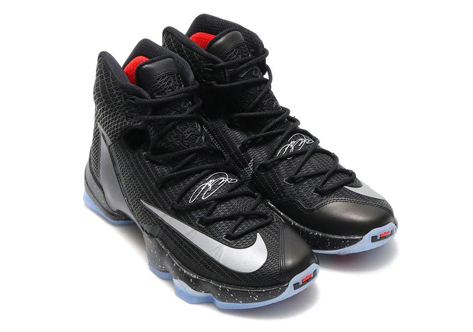 9c8405f73f8 LeBron 13 Elite Black Reflect Silver 831923-001 | Watch His Feet ...