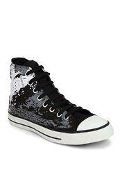 Ct As Sketen Hi Black Sneakers | Black