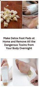 Photo of Machen Sie zu Hause Detox-Fußpolster und entfernen Sie alle gefährlichen Giftstoffe