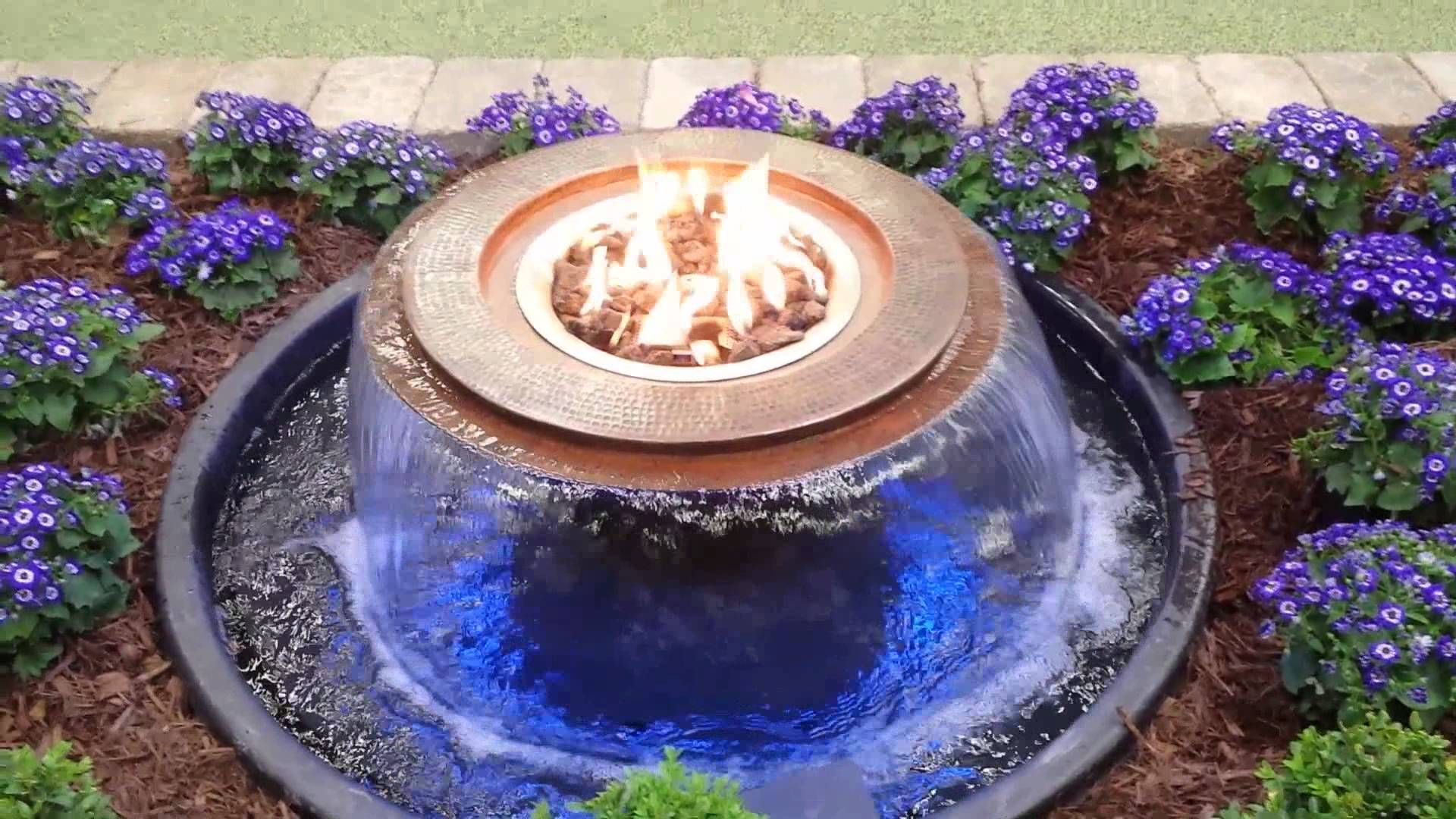 Home And Garden Show Fire And Water From Landstyle Design And Construction