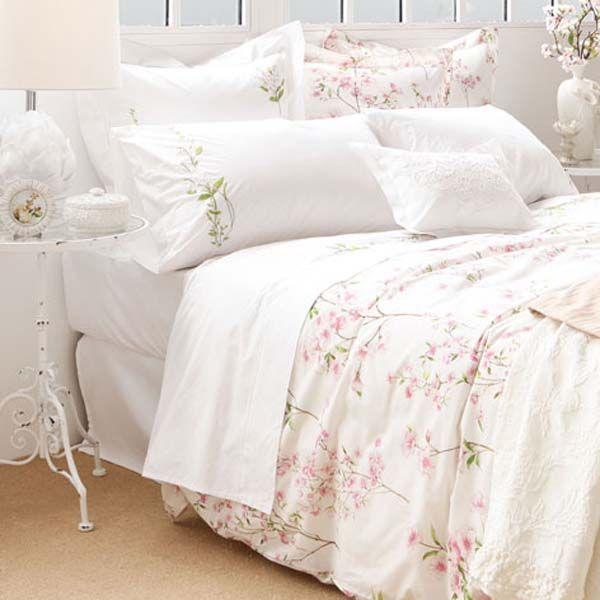 Print floral en ropa de cama zara home ropa de cama - Ropa de hogar zara home ...