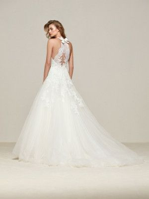 Wedding dresses back bow | Wedding apparel | Pinterest | Princess ...