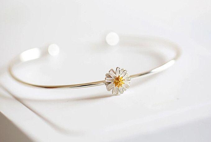 925 sterling silver bracelet (the Daisy bracelet)