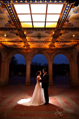 RevAnnieNYC UK Destination Wedding NYC Central Park Bethesda Plaza