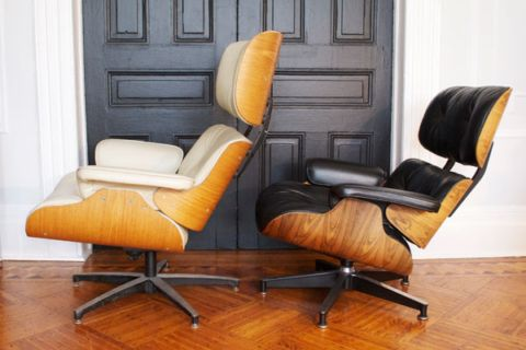 Real Vs Fake The Eames Lounge Manhattan Nest In 2020 Eames Lounge Eames Lounge Chair Replica Lounge Chairs Living Room