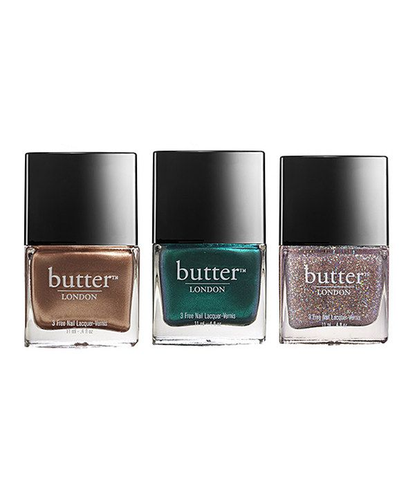 Take a look at this The Old Bill, Thames & Tart with a Heart Nail Polish Set on zulily today!