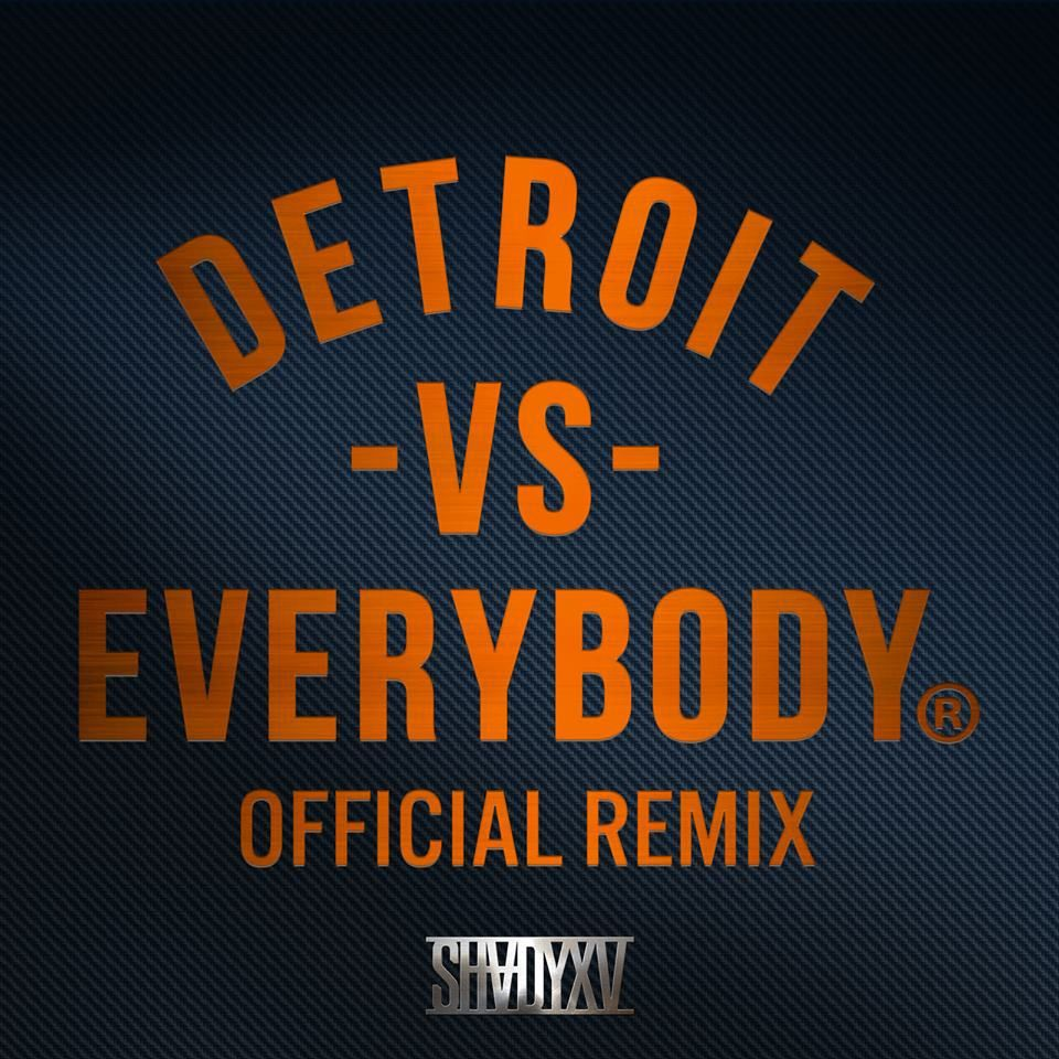 Listen To The Full 16 Minutes Of Official Remix Of Detroit Vs Everybody Featuring 16 Young Hungry Hip Hip Rap Artists Detroit Vs Everybody Detroit Remix