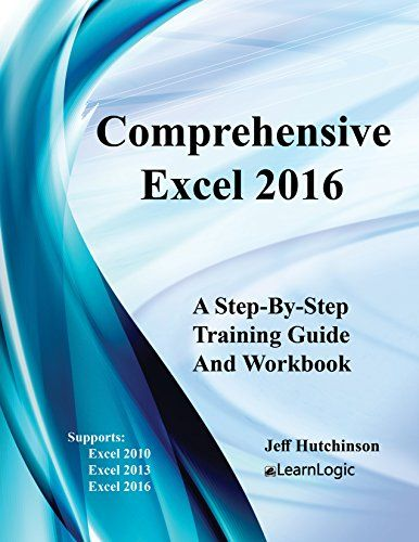 Comprehensive Excel 2016 2nd Edition Pdf Download e-Book Microsoft