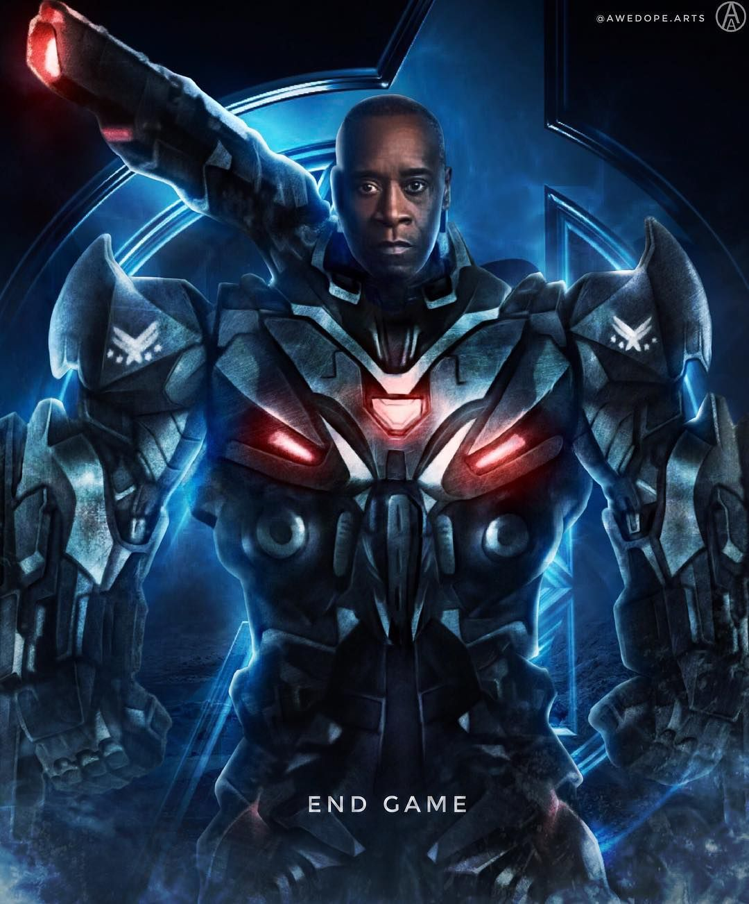 WAR MACHINE Day 3 Of My Avengers End Game Series Cant Wait