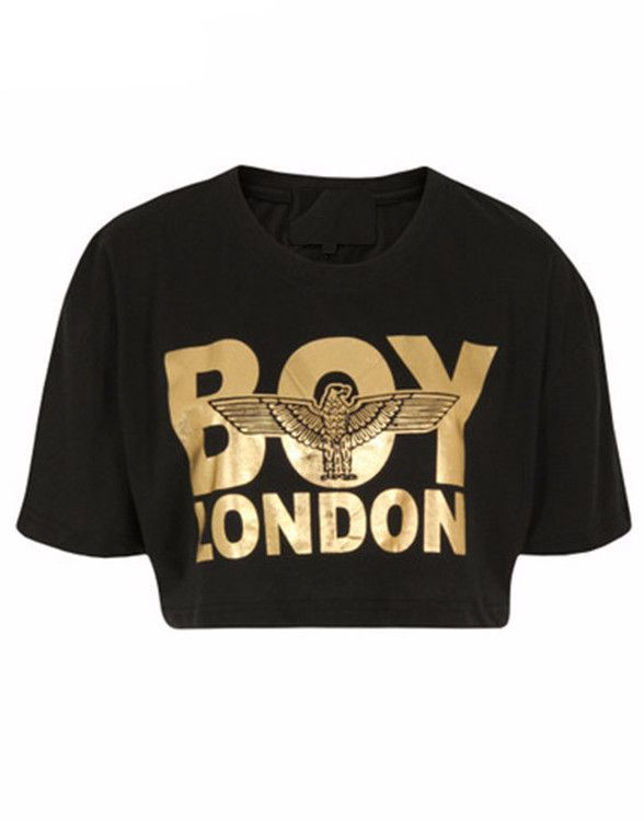 boy london cropped t shirt