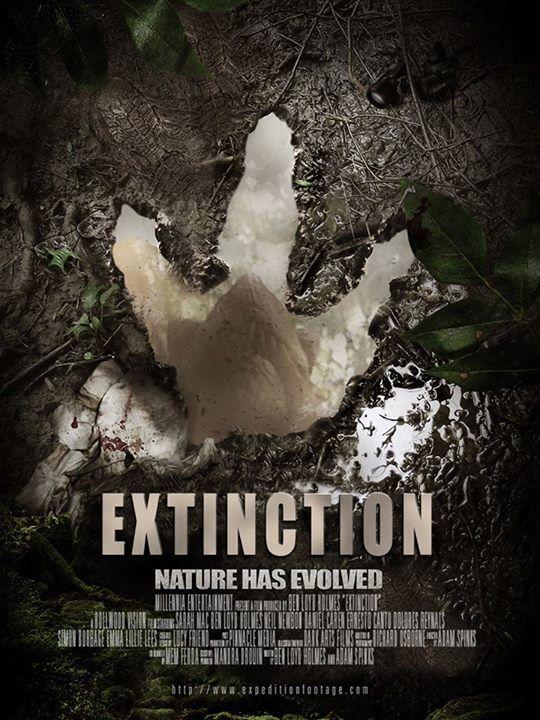 Extinction 2015 Horror Drama Dir Miguel Angel Vivas Horror Movie Posters Upcoming Horror Movies Extinction Movie