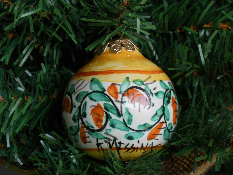 Ceramic ball di ceramichemessina su Etsy