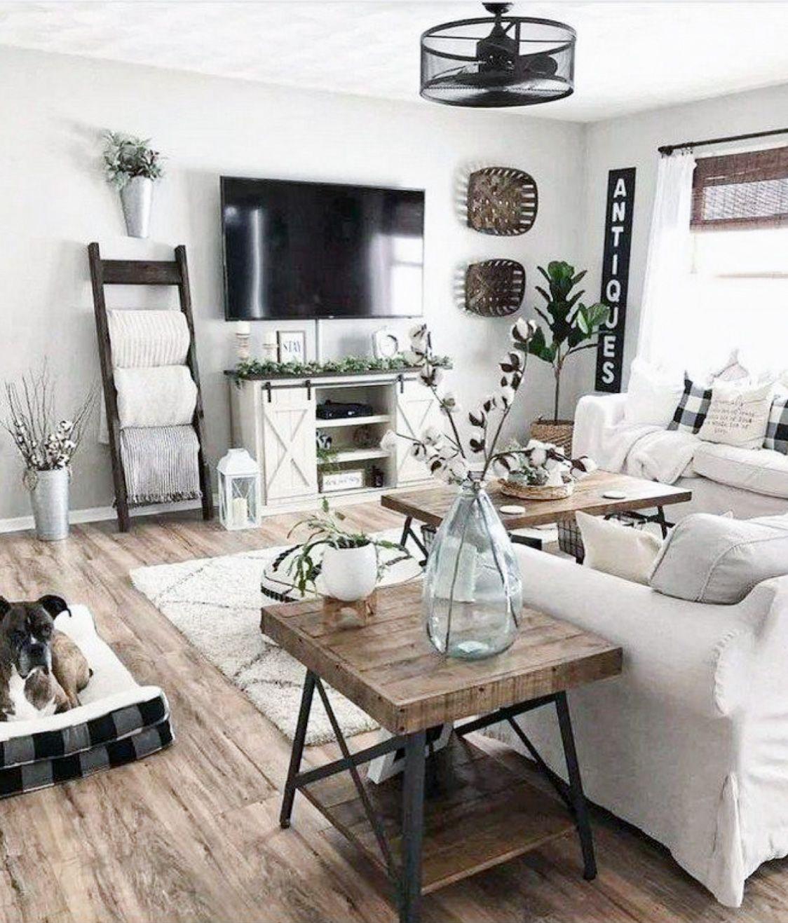 The Most Gorgeous Diy Farmhouse Decor And Furniture Diy Darlin In 2020 Farmhouse Decor Living Room Farm House Living Room Small Space Living Room