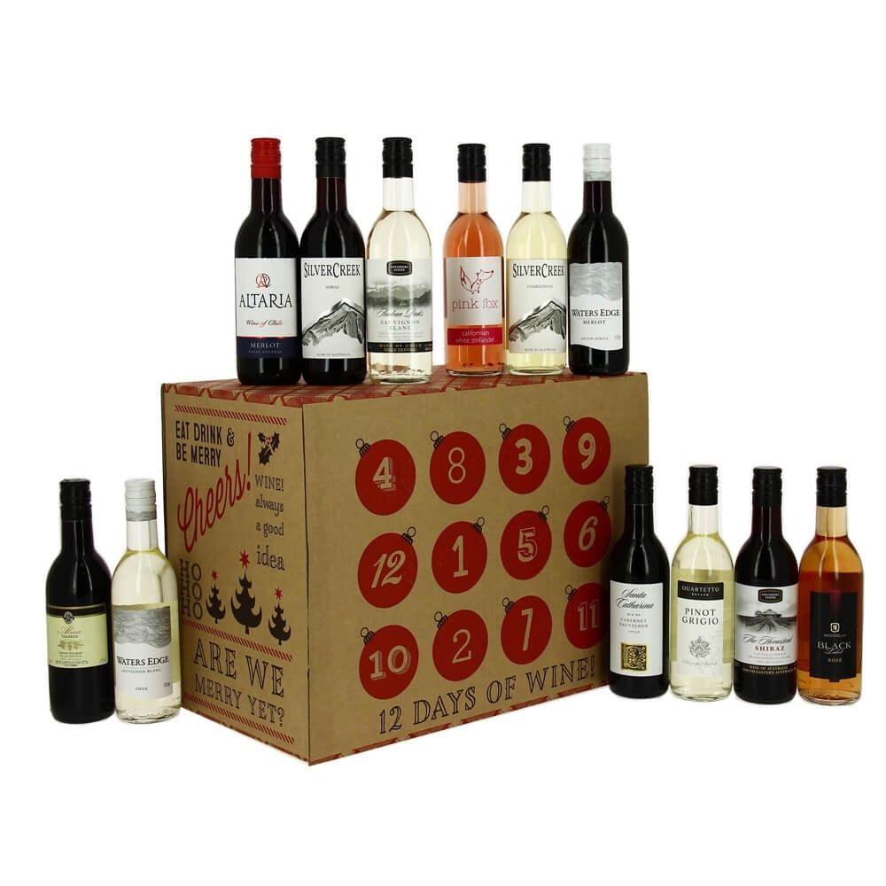 12 Wines Of Christmas Gift Pack Wine Advent Calendar Wine Wine