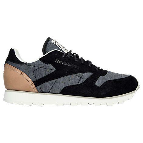 men's reebok classic leather fleck casual shoes  aq9723