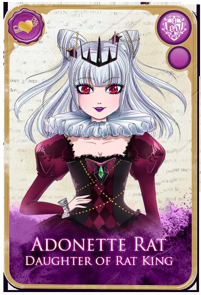 Adonette Rat Daughter Of Rat Mouse King From Nutcracker Description From Ever After High Deviantart Catty Noir