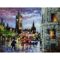 Manchester Town Hall Fine Art Print By E Anthony Orme Fine Art Trade Guild ArtSure Print Quality