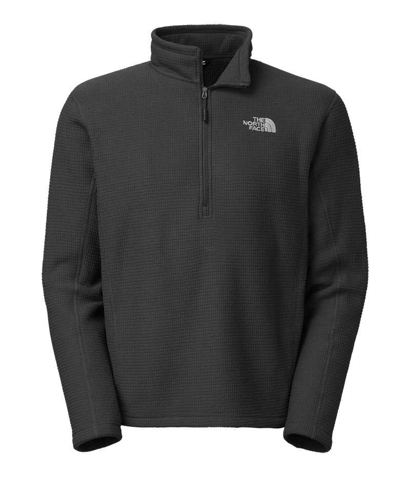 The North Face Half Zip Pullover for Men in Asphalt Grey