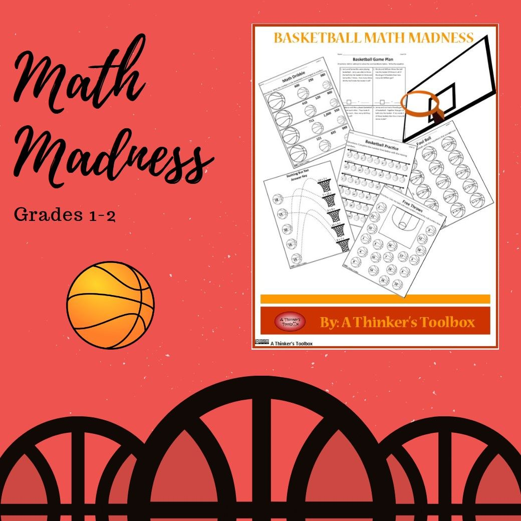 Basketball Math Madness Worksheets Distance Learning In