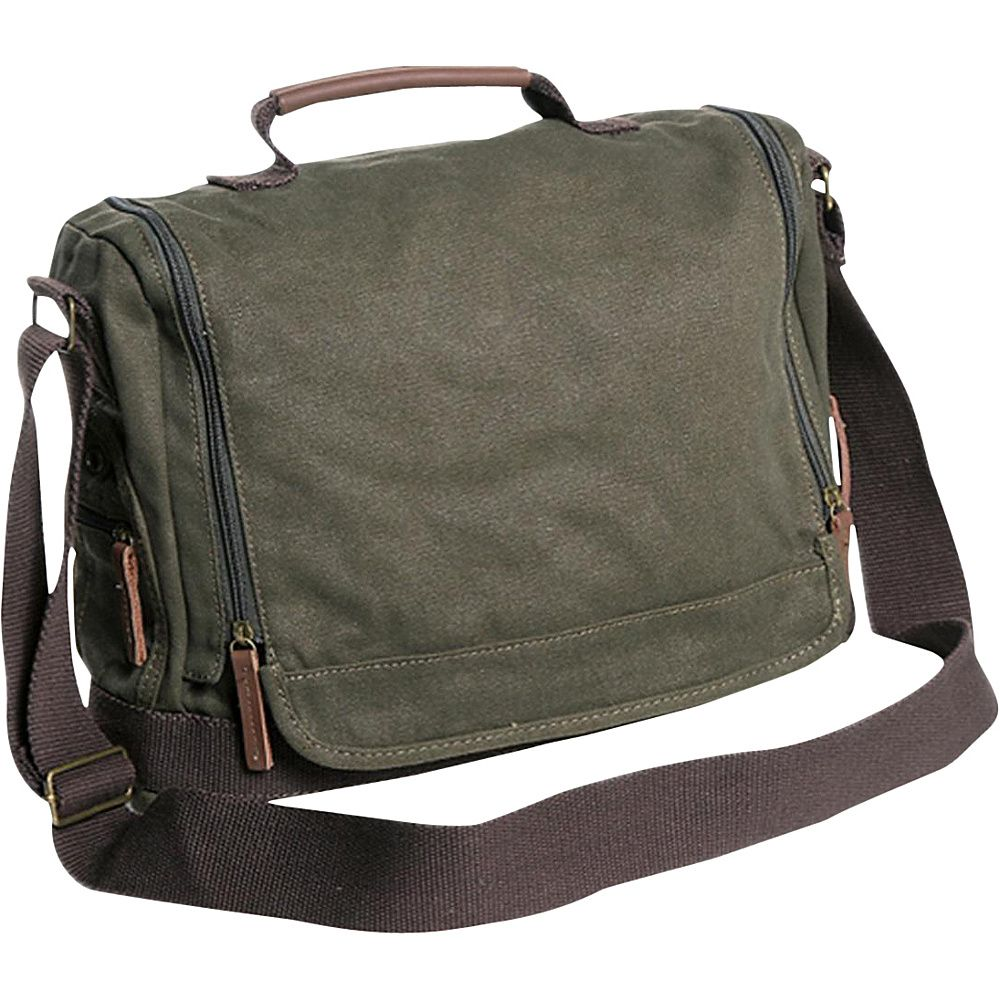 e43f6c939 Washed Canvas Leisure Messenger Bag in 2019   Products   Bags ...