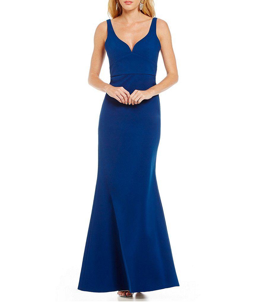 Sapphire:Jill Jill Stuart Sweetheart Neckline Gown