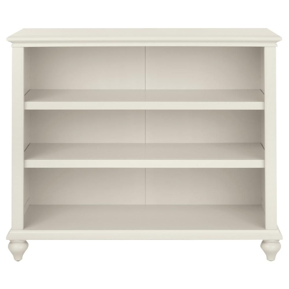 Home Decorators Collection 36 In Polar White Wood 3 Shelf Accent Bookcase With Adjustable Shelves 9786900410 Bookcase Shelves Adjustable Shelving