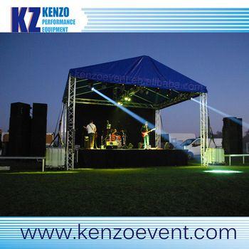 Portable Aluminum Outdoor Roof Truss Concert Stage Truss Outdoor Stage Cool Pictures Cool Photos