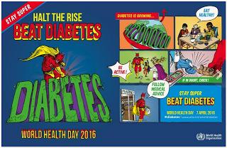 Kemenskes Mengajak Masyarakat Untuk Memerangi Diabetes di
